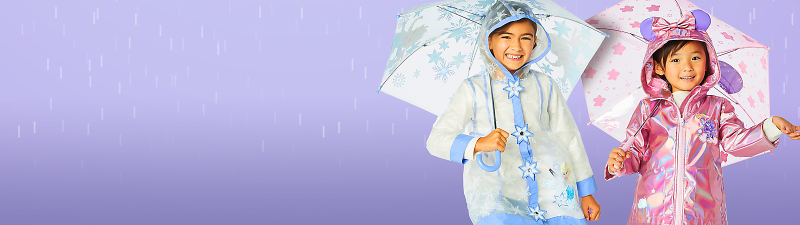 Girls' Rainwear