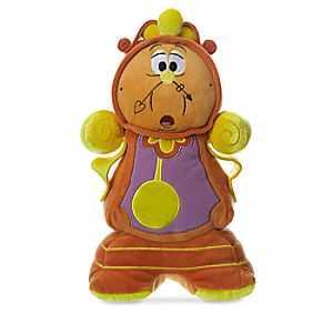 Cogsworth Plush – Beauty and the Beast – Small – 10 1/2""