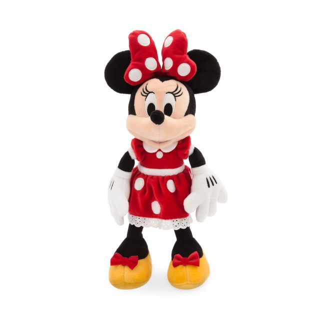 Minnie Mouse Plush – Red – Small – 14'' – Personalized