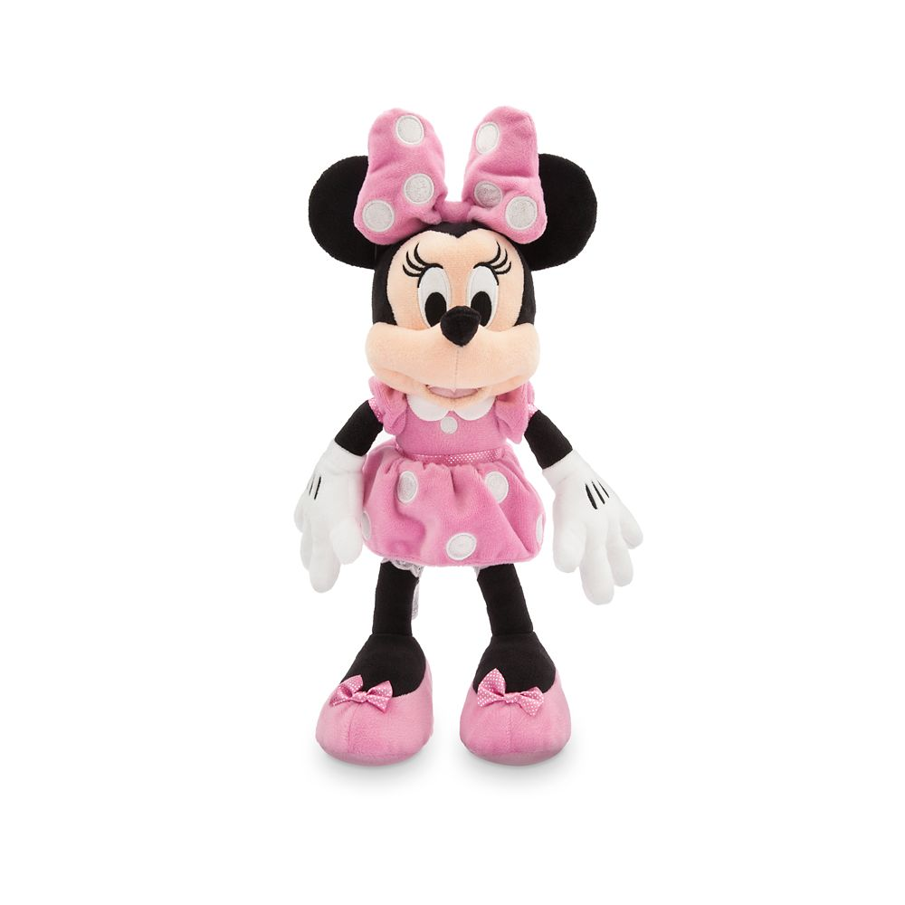 Minnie Mouse Plush – Pink – Small – 14'' – Personalized