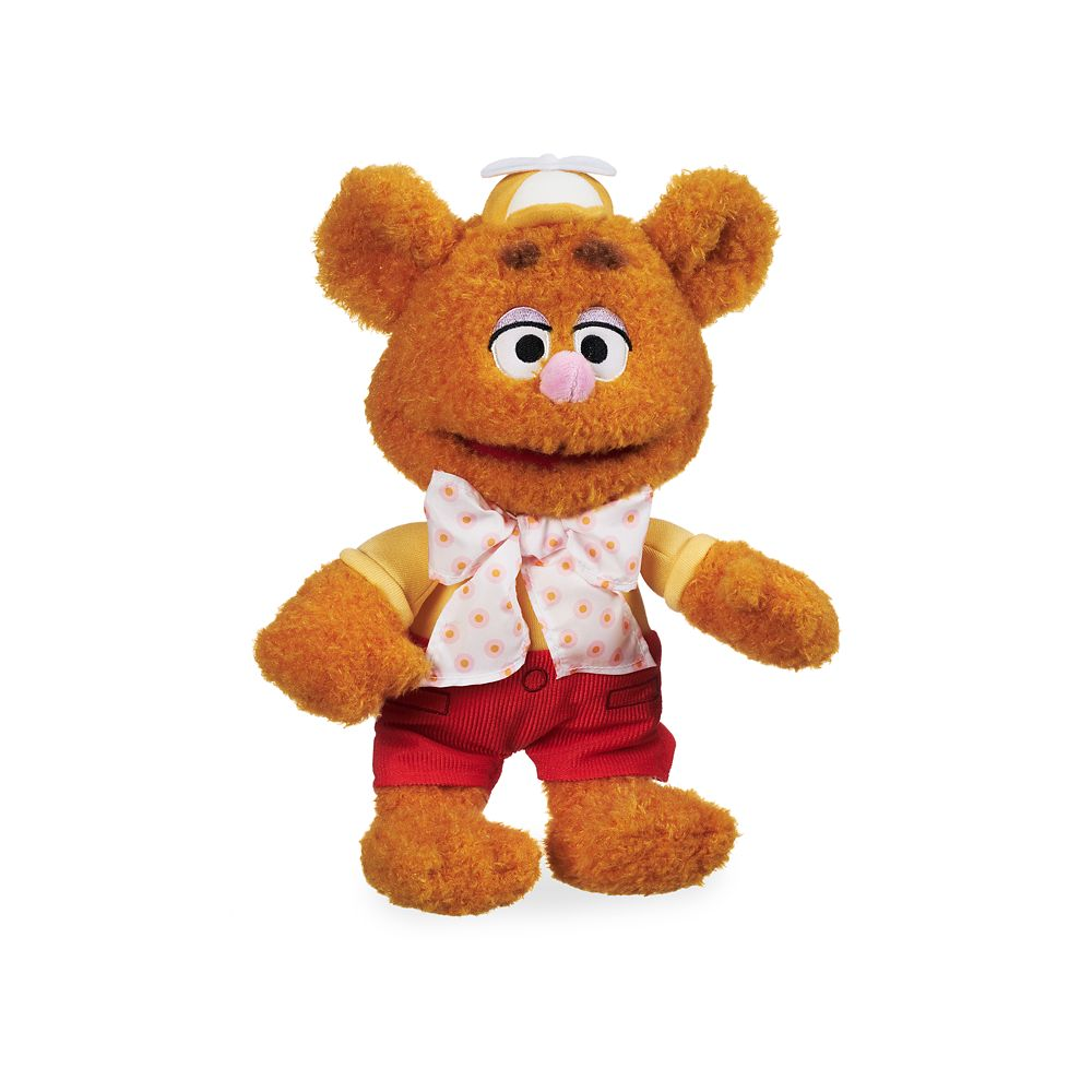Fozzie Bear Plush – Muppet Babies – Small