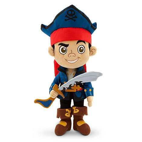 Captain Jake Plush - Jake and the Never Land Pirates - Small - 12''