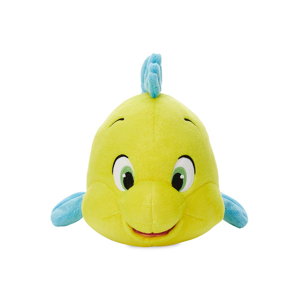 Flounder Plush – The Little Mermaid – Small – 7 1/2''