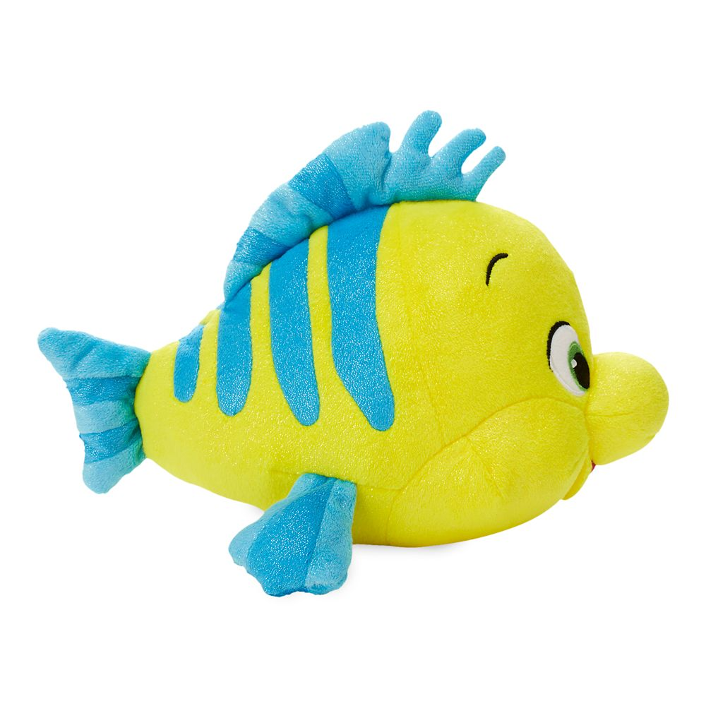 Flounder Plush – The Little Mermaid – Small – 7 1/2''