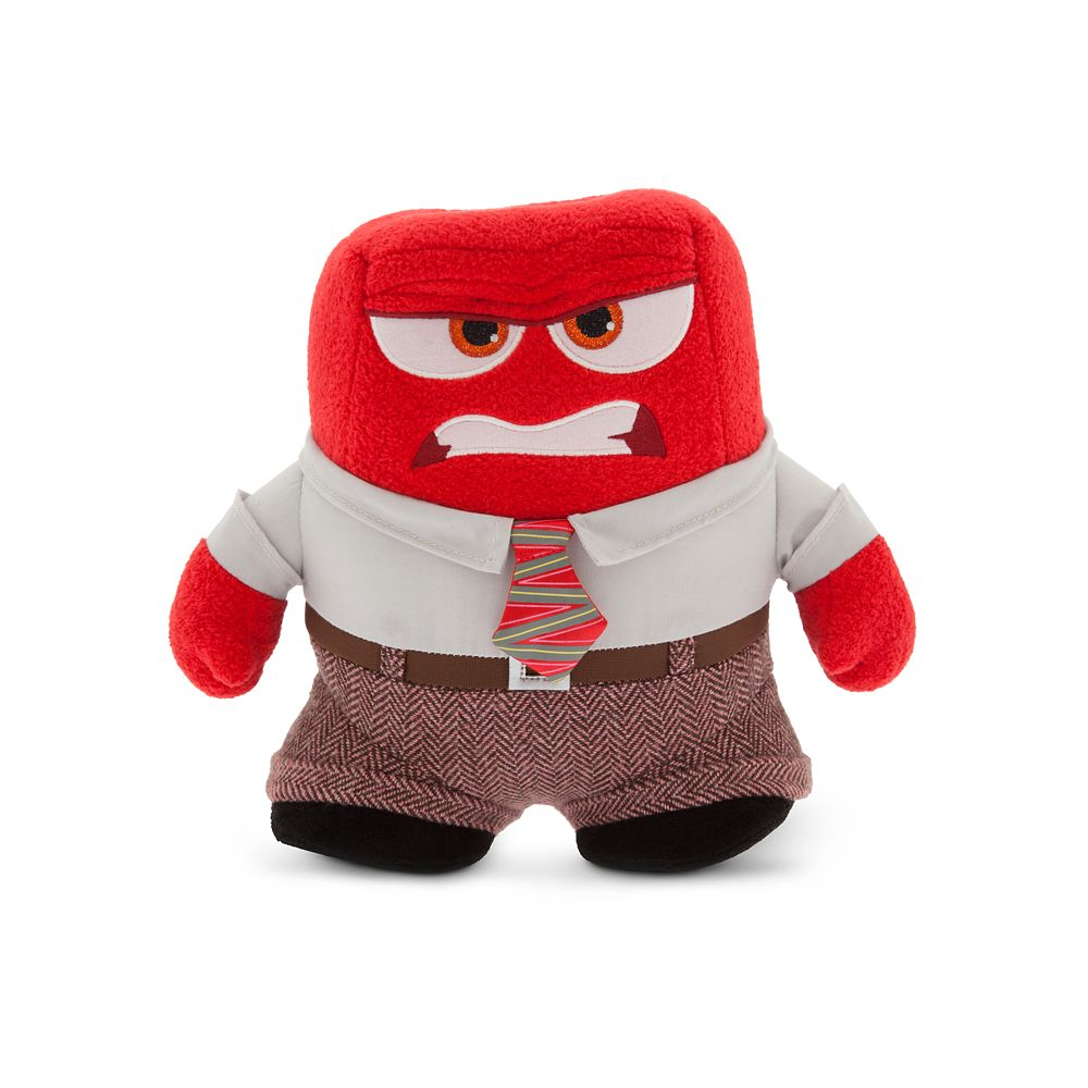 Anger Plush – Inside Out – Small – 8 1/2''