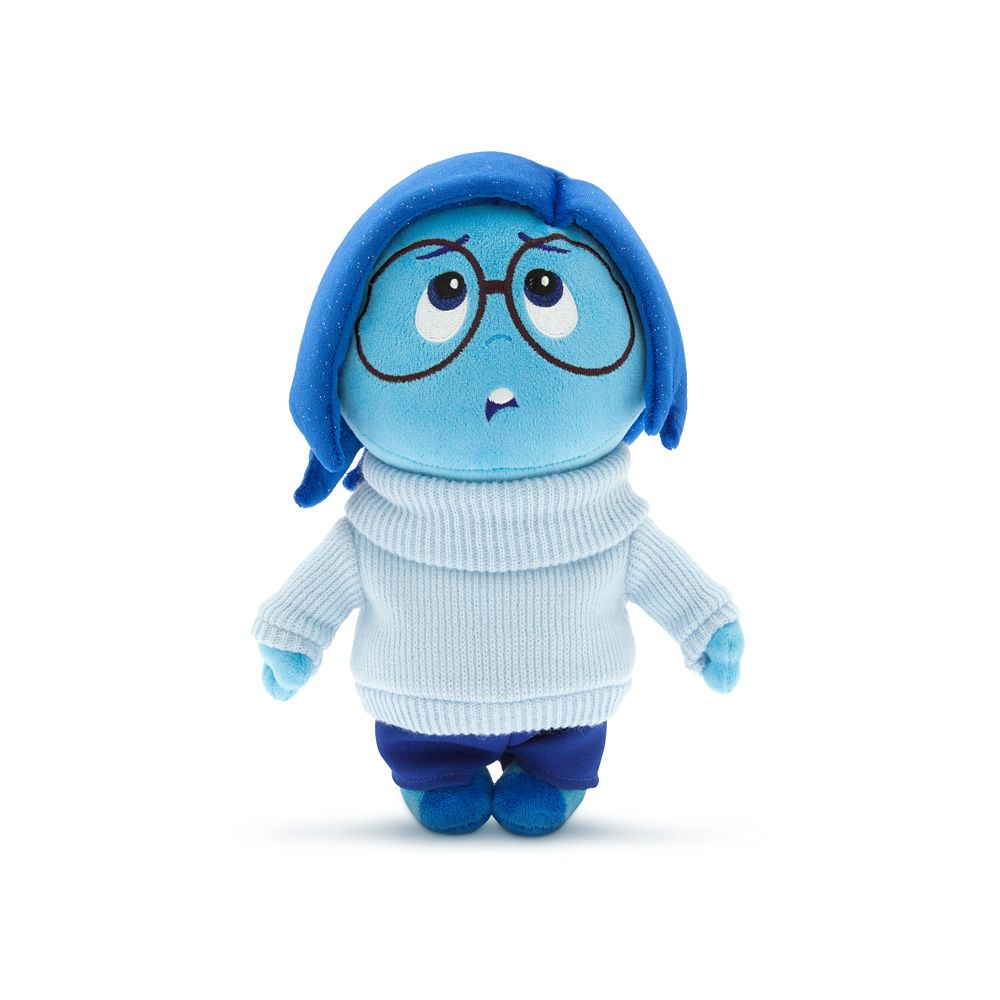 Sadness Plush – Inside Out – Small – 11''