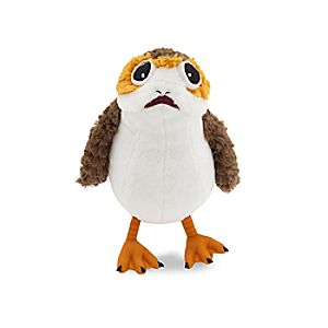 "Porg Plush – Small – 9"" – Star Wars: The Last Jedi"