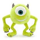 Mike Wazowski Plush - Monsters, Inc. - Small - 10 1/2''