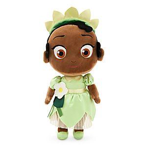 Toddler Tiana Plush Doll - Princess and the Frog - Small - 12''