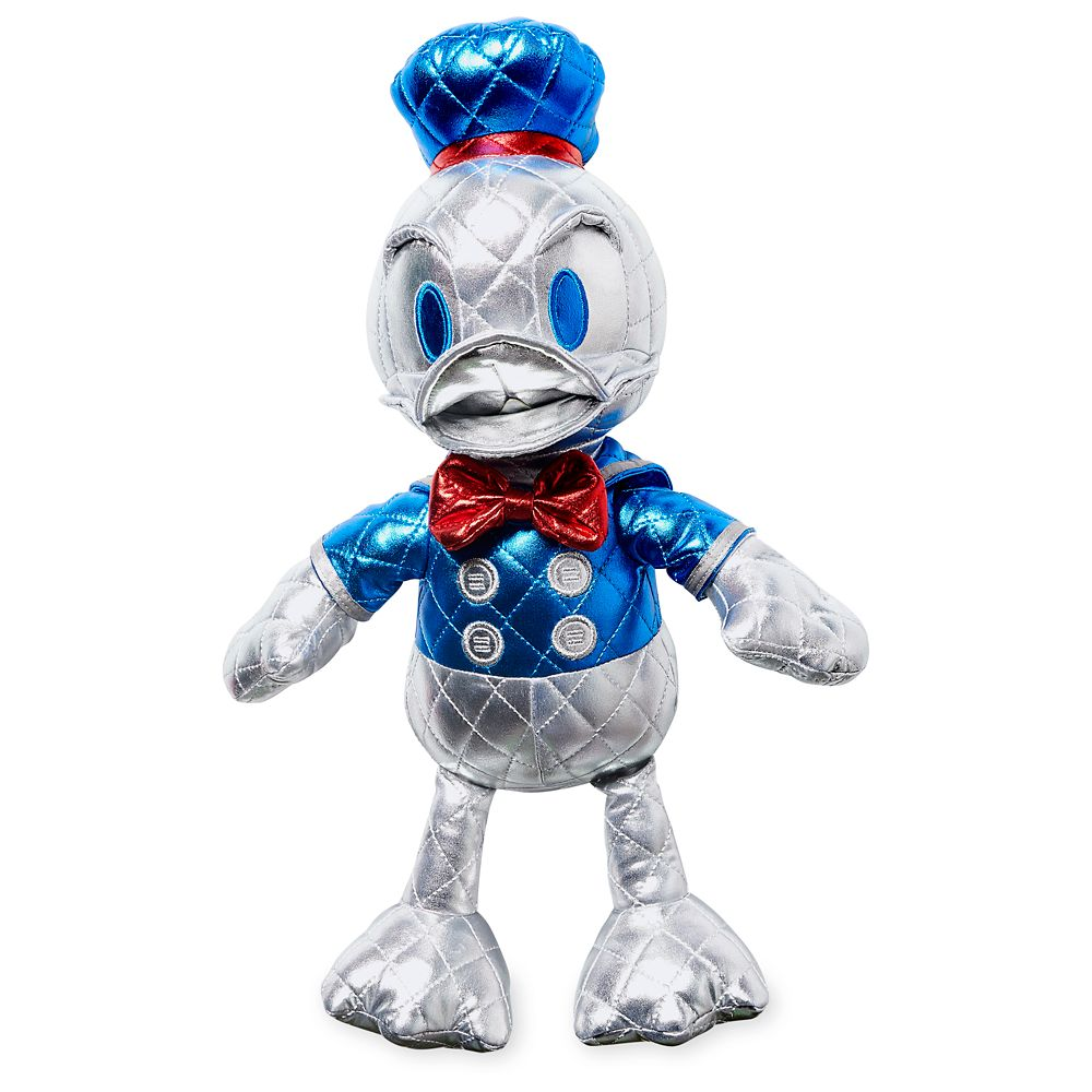 Donald Duck 85th Anniversary Metallic Plush – Small – 15'' – Special Edition