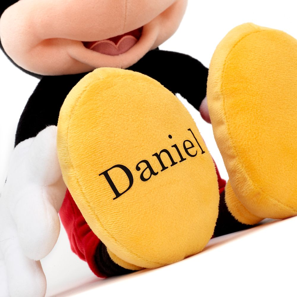 Mickey Mouse Plush – Medium – 17'' – Personalizable