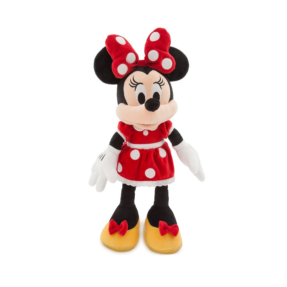 Minnie Mouse Plush – Red – Medium – 18'' – Personalizable