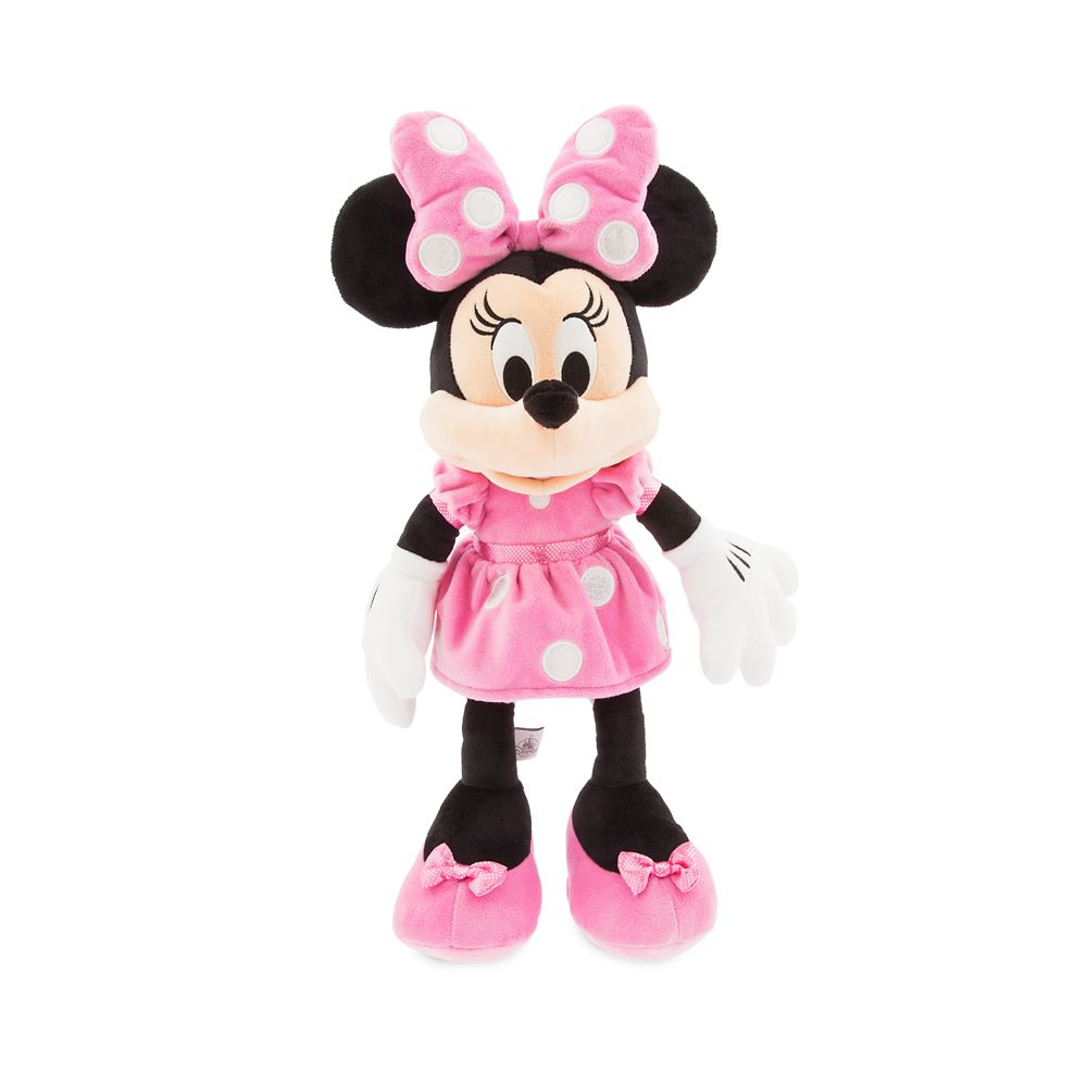 Minnie Mouse Plush  Pink  Medium  18''  Personalizable Official shopDisney