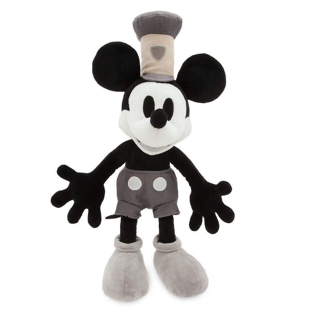 Mickey Mouse Plush  Steamboat Willie  Medium Official shopDisney