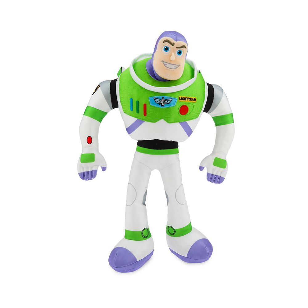 Buzz Lightyear Plush – Toy Story 4 – Medium – 17''