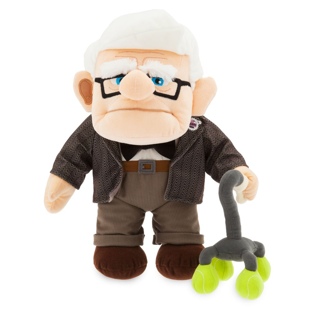Carl Fredricksen Plush – Up – Medium 14''