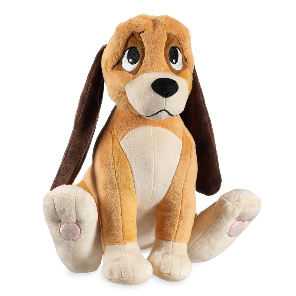 Copper Plush – The Fox and the Hound – Medium 12 1/2''