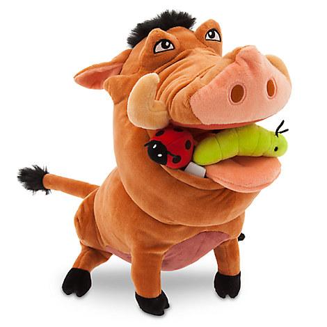 Pumbaa Plush - The Lion King - Medium - 12 1/2''