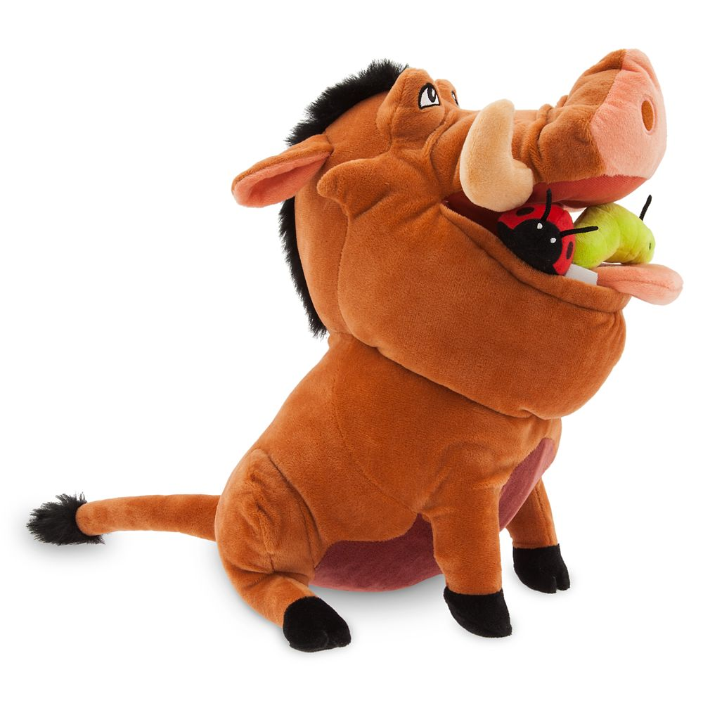 Pumbaa Plush – The Lion King – Medium – 12 1/2''