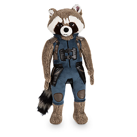 Rocket Raccoon Plush - Guardians of the Galaxy Vol. 2 - Medium - 17''