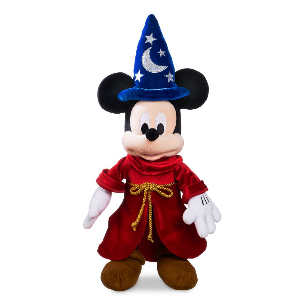 Sorcerer Mickey Mouse Plush – Medium 22'' – Toys for Tots Donation Item