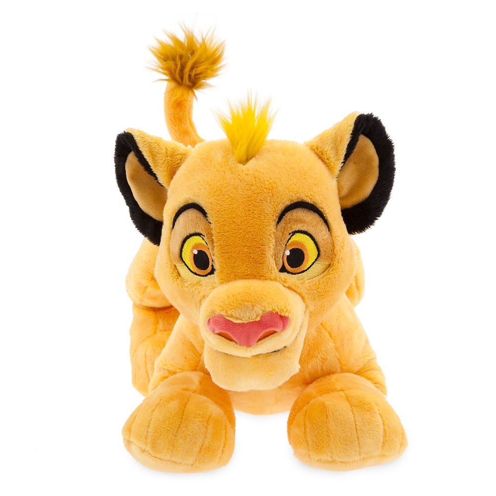 Simba Plush – The Lion King – Medium – 17'' – Toys for Tots Donation Item