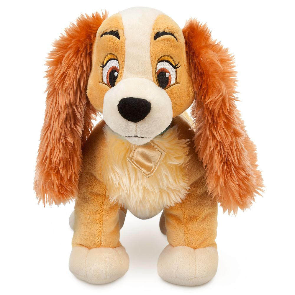 Lady Plush – Lady and the Tramp – Medium – 14'' – Personalizable