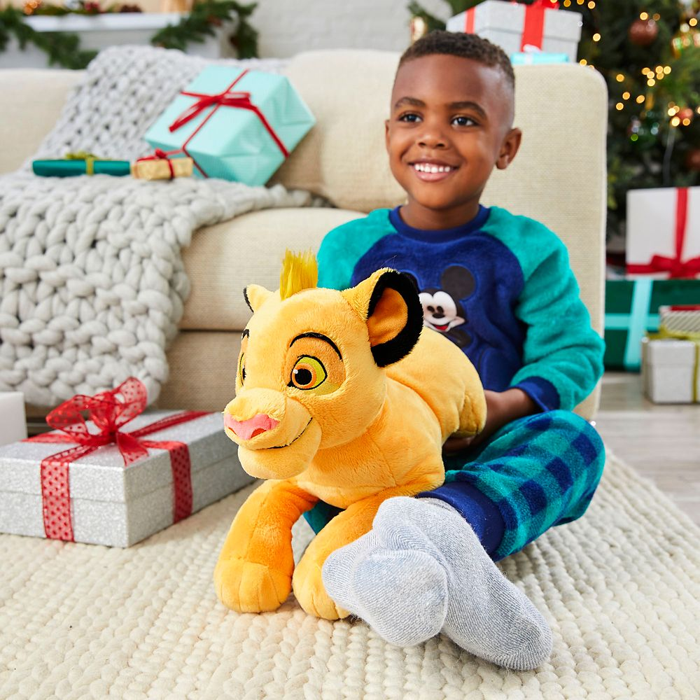 17 Medium Disney Simba Plush The Lion King