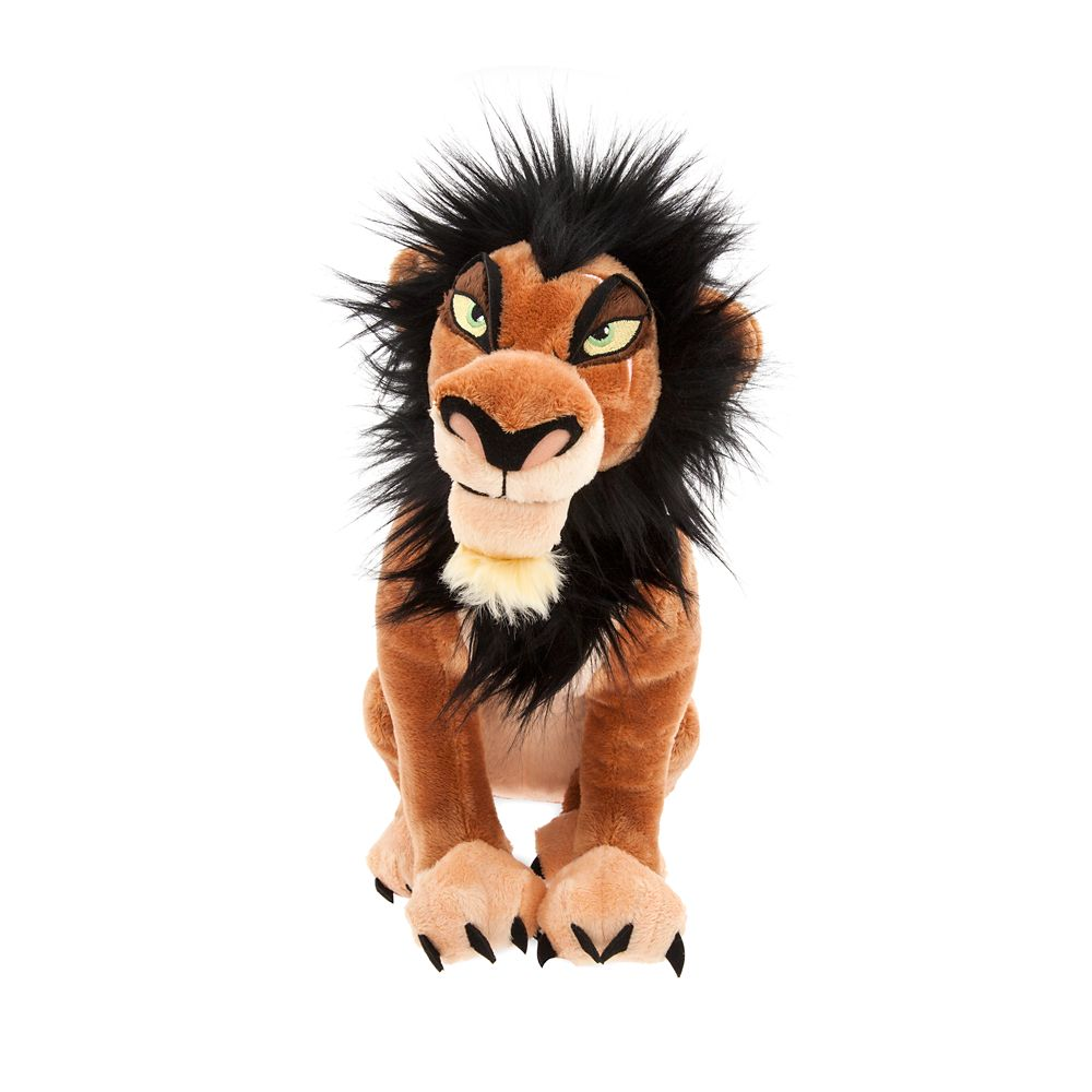 Scar Plush – The Lion King – Medium – 14''