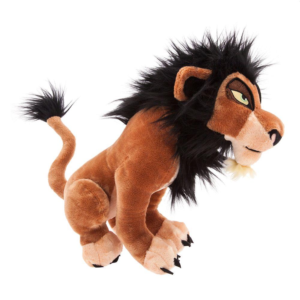 Scar Plush – The Lion King – Medium – 14''