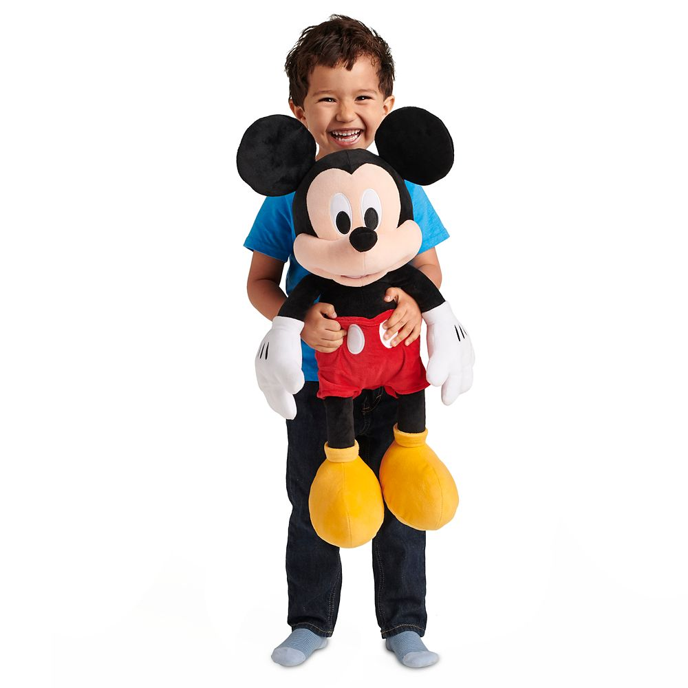 Mickey Mouse Plush – Large