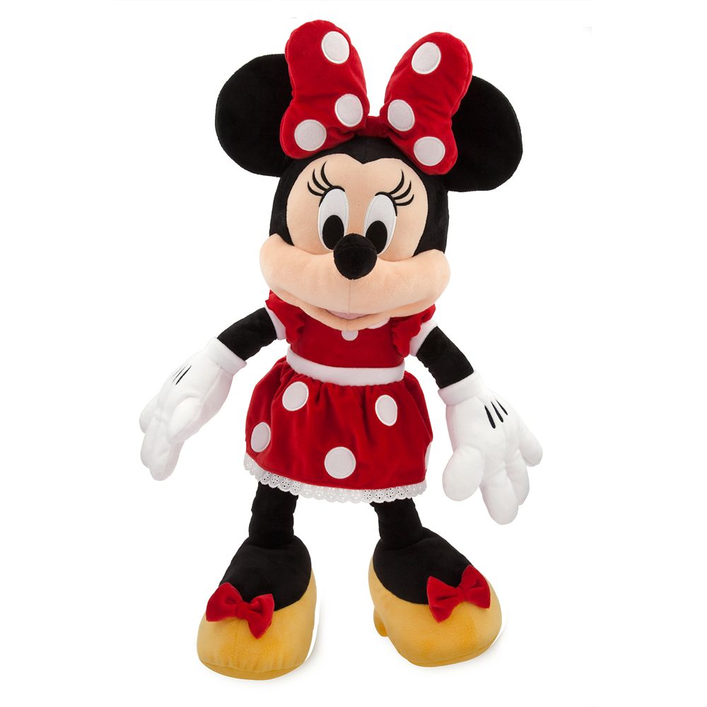 Minnie Mouse Plush – Red – Large