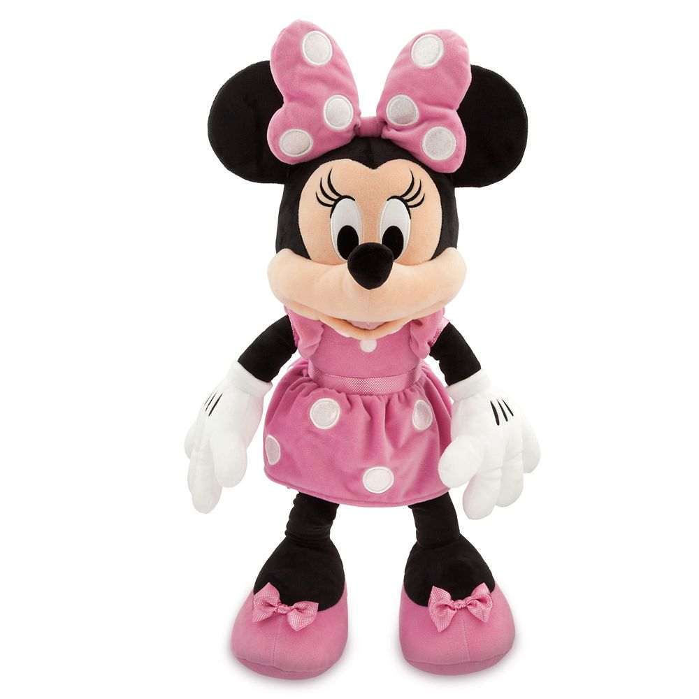 Minnie Mouse Plush - Pink - Large | shopDisney