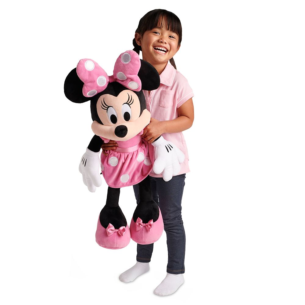 Minnie Mouse Plush – Pink – Large