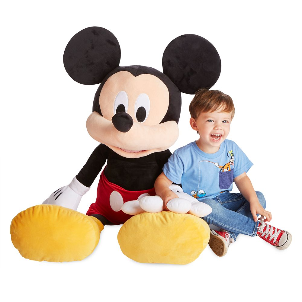 Mickey Mouse Plush – Jumbo 47''