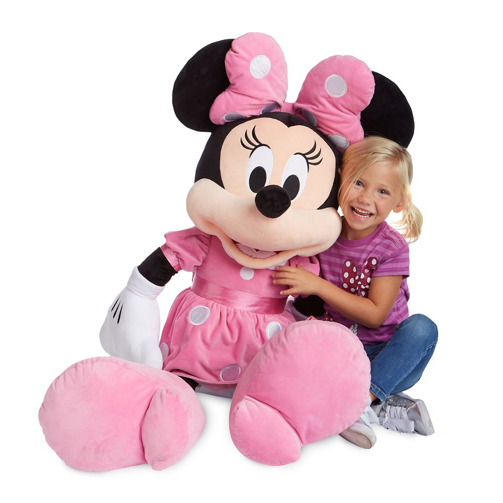 Minnie Mouse Plush – Jumbo 47''