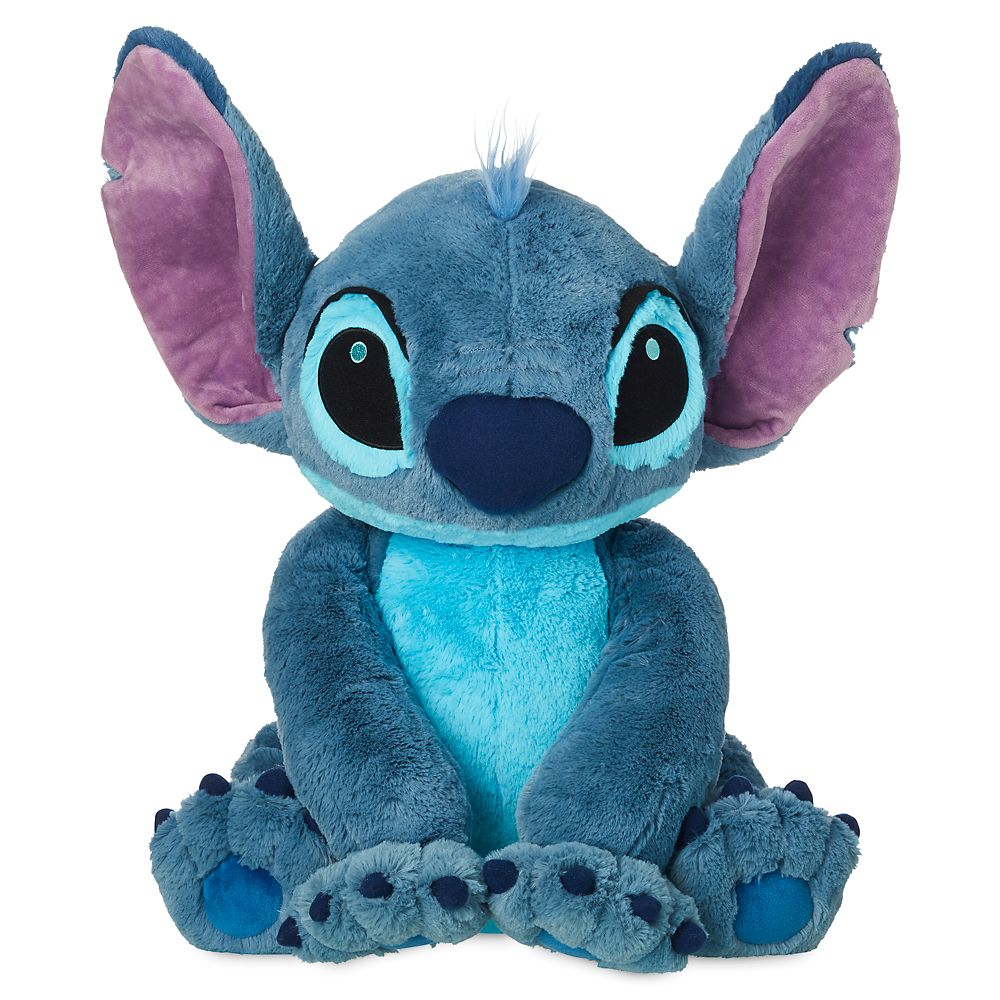 Stitch Plush – Lilo & Stitch – Large – 18'' – Toys for Tots Donation Item