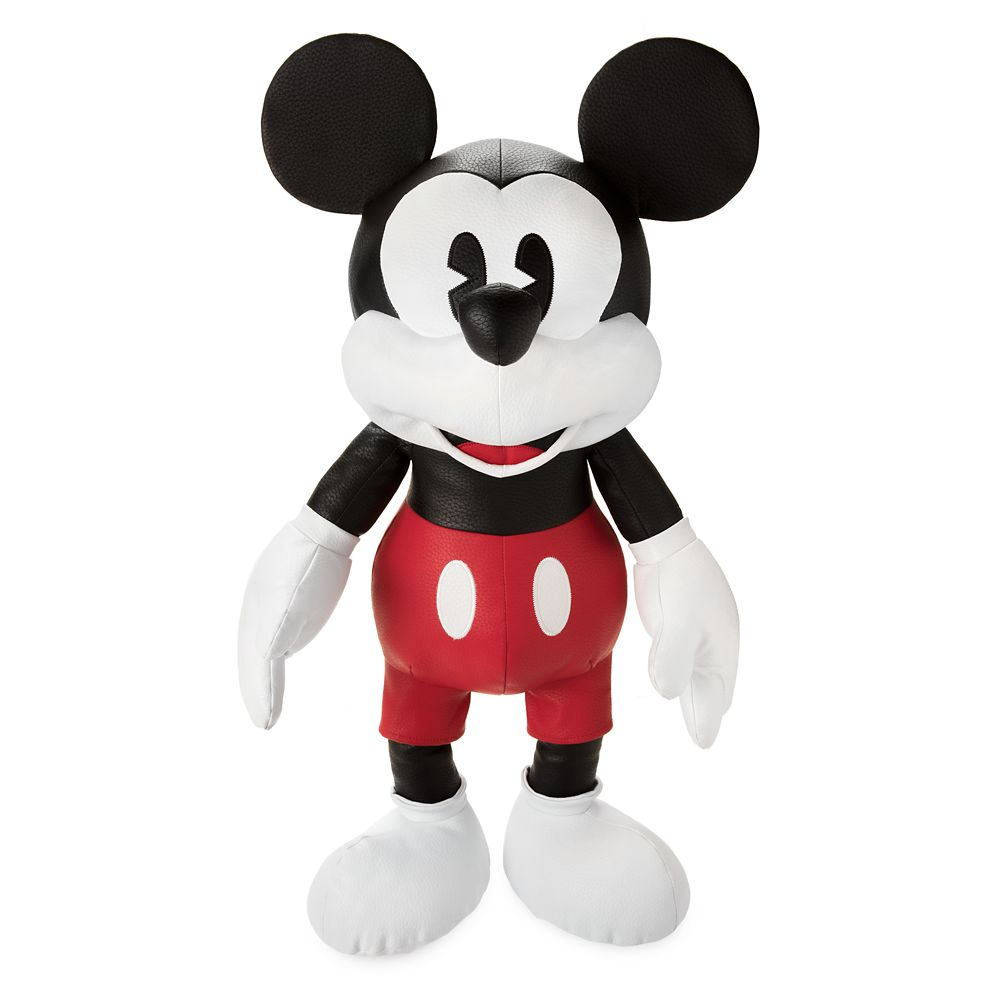 Mickey Mouse Simulated Leather Plush – Large – 26''