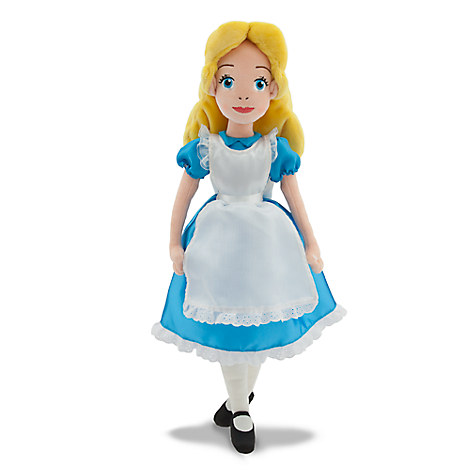 Alice Plush Doll - Alice in Wonderland - Medium - 20''