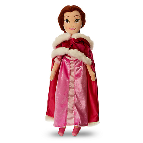 Belle Plush Doll with Cape - Beauty and the Beast - Medium - 19 1/2''