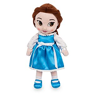 Disney Animators' Collection Belle Plush Doll - Small - 13''