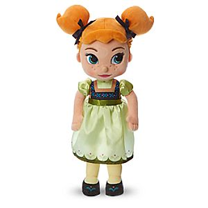 Disney Animators' Collection Anna Plush Doll - Frozen - Small - 13''