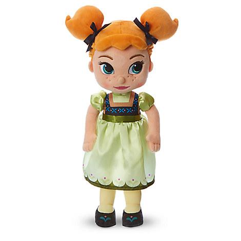 Disney Animators' Collection Anna Plush Doll - Frozen - Small - 13''