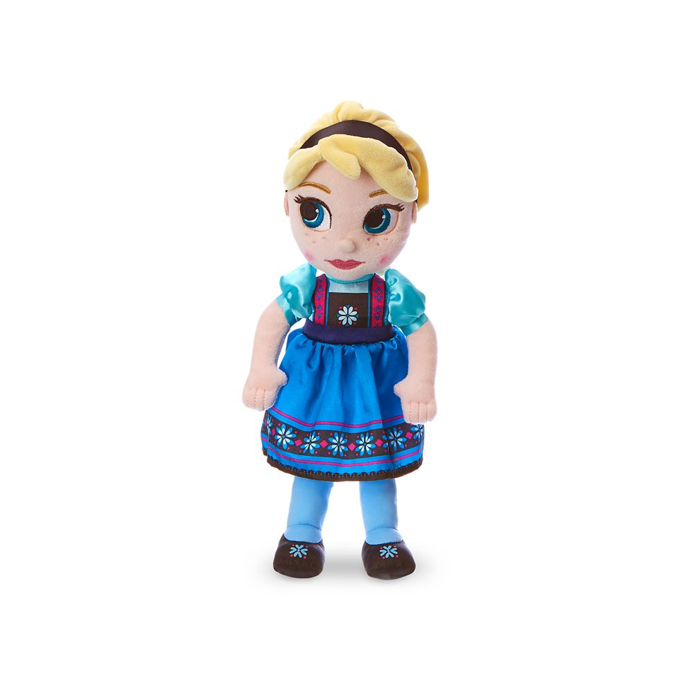 Disney Animators Collection Elsa Plush Doll - Frozen - Small - 13