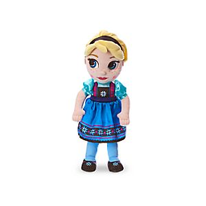 Disney Animators' Collection Elsa Plush Doll - Frozen - Small - 13''