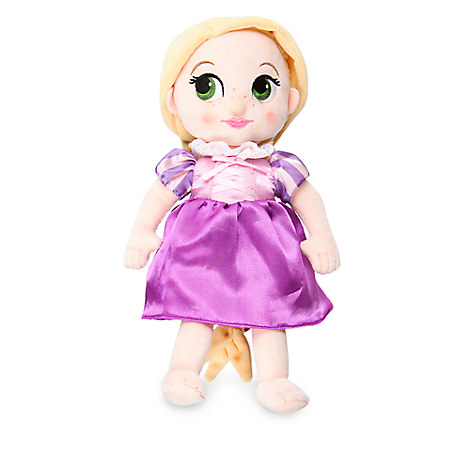 Disney Animators' Collection Rapunzel Plush Doll - Tangled - Small - 12''