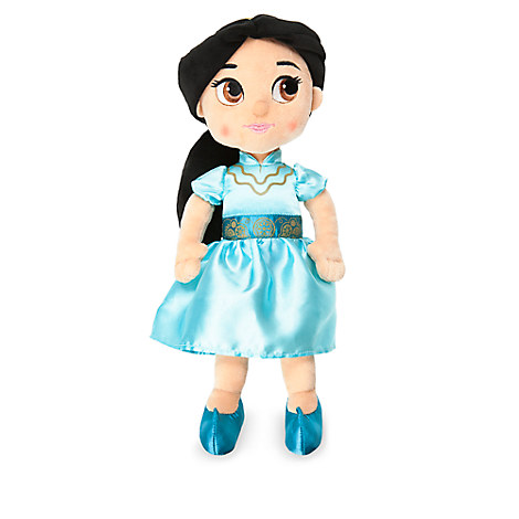 Disney Animators' Collection Jasmine Plush Doll - Aladdin - Small - 13''