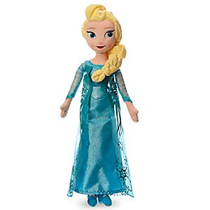 Elsa Plush Doll  -  Medium  -  20''
