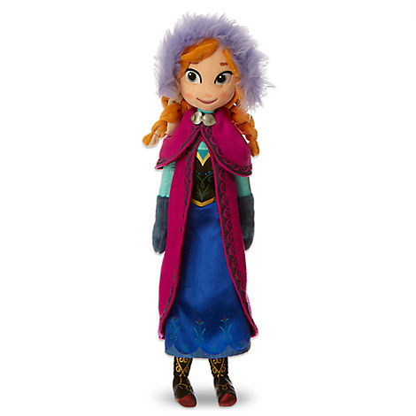 Anna Plush Doll - Medium - 20''