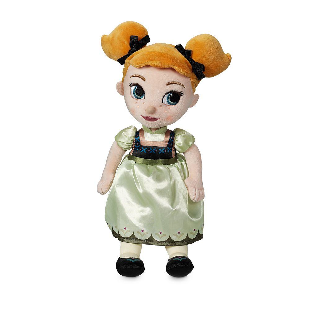 Disney Animators' Collection Anna Plush Doll – Small – 13''